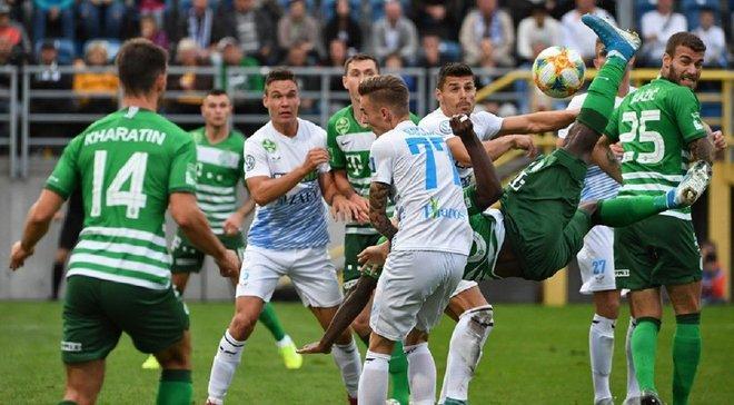 Ференцварош в результативном матче обыграл Залаэгерсег – команда Реброва возглавила турнирную таблицу чемпионата Венгрии