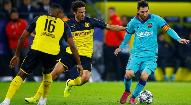 Барселона – Борусія Д: онлайн-трансляція матчу Ліги чемпіонів – як це було