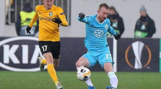 Александрия – Вольфсбург: онлайн-трансляция матча Лиги Европы – как это было