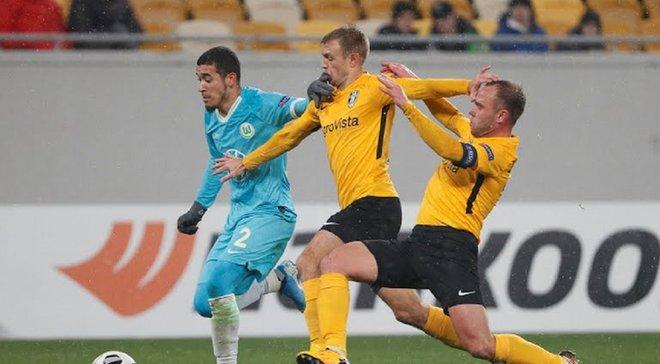 Олександрія втратила шанси на плей-офф Ліги Європи – експеримент Шарана провалився, а Вольфсбург переміг заслужено