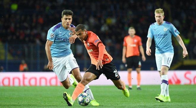 Манчестер Сіті – Шахтар – 1:1 – відео голів та огляд матчу