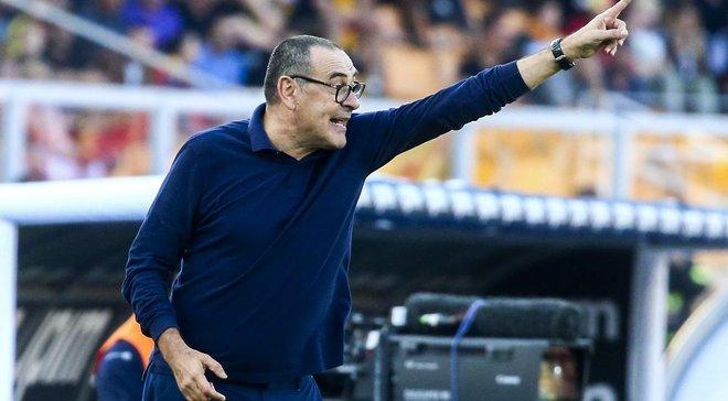 Сарри не уверен, сможет ли Роналду сыграть против Атлетико