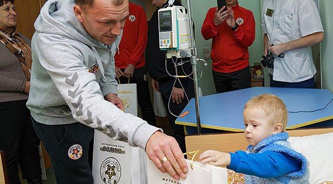 Игроки Волыни сдали кровь для помощи недоношенным малышам – поступок дня