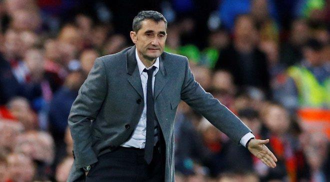 Вальверде: Все команды нашей группы хотели бы поменяться местами с Барселоной