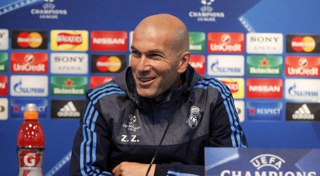 Зідан в захваті від гри Реала попри втрачену перемогу в матчі з ПСЖ