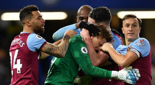 Долгожданная победа команды Ярмоленко в видеообзоре матча Челси – Вест Хэм – 0:1