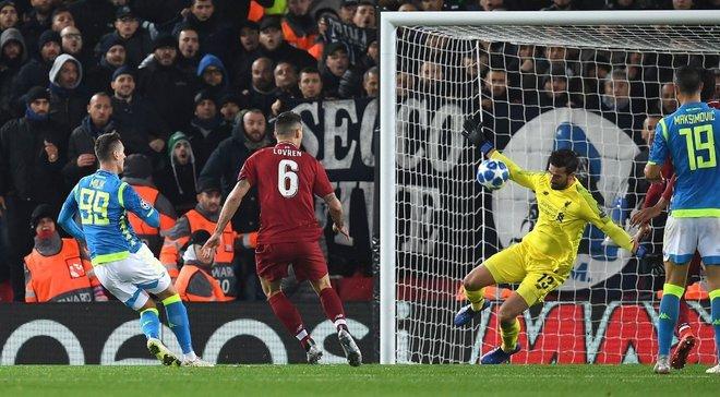 Ливерпуль – Наполи – 1:1 – видео голов и обзор матча