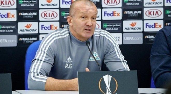 Григорчук – о победе над Манчестер Юнайтед: В перерыве сказал своим игрокам, что нам нужны разум и уверенность