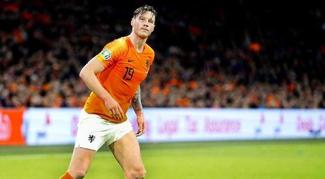 Вегхорст: Нідерландам буде нелегко проти України на Євро, але шанси маємо