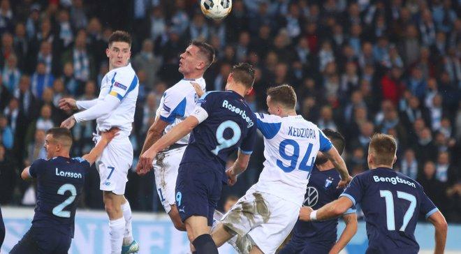 Головні новини футболу 28 листопада: Динамо поступилось Мальме, Олександрія втратила шанси на плей-офф Ліги Європи