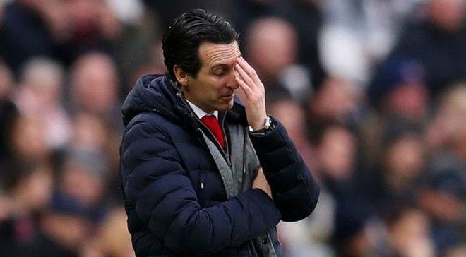 Эмери объяснил причины фиаско Арсенала в матче против Айнтрахта