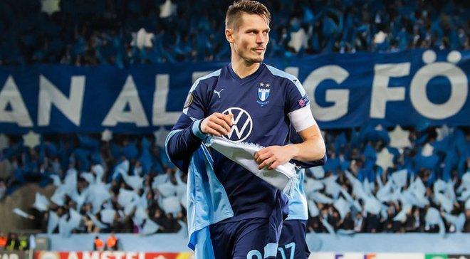 Сльози Розенберга після матчу з Динамо – фанати Мальме влаштували фантастичний перфоманс легенді клубу