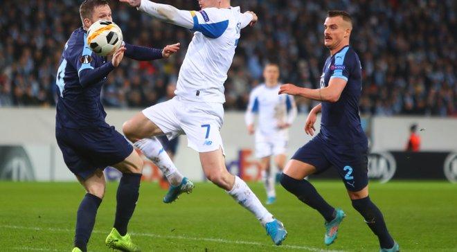 УЄФА назвав символічну збірну туру Ліги Європи – у команді знайшлося місце двом гравцям Динамо