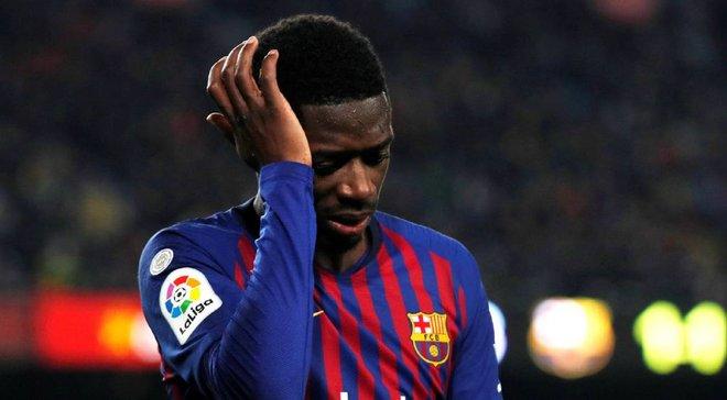 Дембеле може залишитись поза грою до весни – Барселона розглядає варіант з операцією форварда