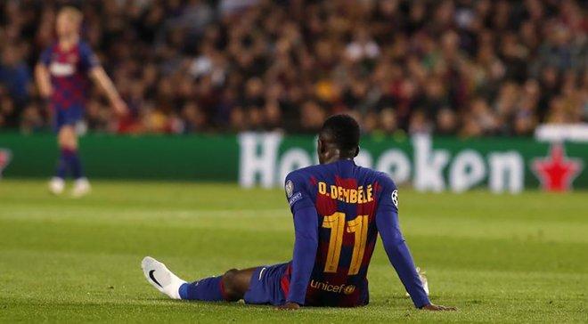 Барселона назвала сроки восстановления Дембеле – игрок вернется на поле в 2020 году
