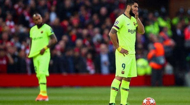 Барселона вперше показала, що відбувалося в роздягальні після драматичного вильоту з Ліги чемпіонів від Ліверпуля