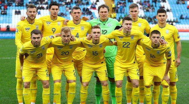 Євро-2020: календар матчів збірної України