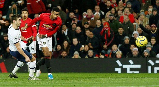 Чергова невдача Моурінью на Олд Траффорд у відеоогляді матчу Манчестер Юнайтед – Тоттенхем – 2:1