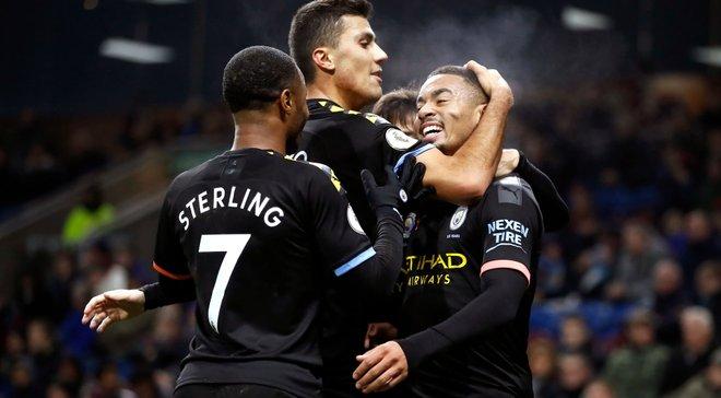 Манчестер Сіті без Зінченка розгромив Бернлі на виїзді