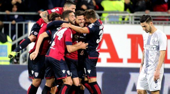 Кальярі на останній хвилині вирвав перемогу над Сампдорією у фантастичному матчі із сімома голами