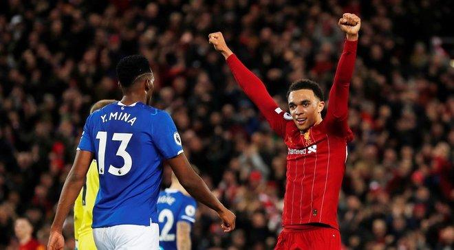 """Ліверпуль розгромив Евертон у дербі: """"червоні"""" забивають все, Мане – герой матчу, але дифірамби Енфілд співає іншому"""
