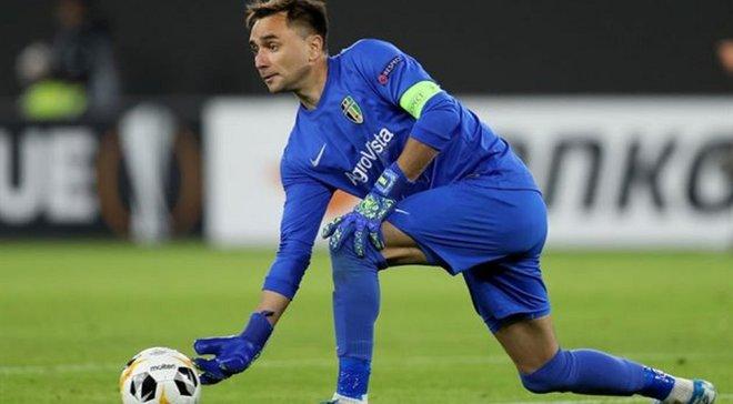 Лучший сейв сезона в Лиге Европы – УЕФА в восторге от игры Панькива в матче с Вольфсбургом