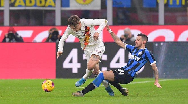 """Неймовірна нереалізація """"нерадзуррі"""" у відеоогляді матчу Інтер – Рома – 0:0"""