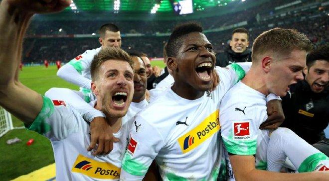 Очередная победа сенсационного лидера Бундеслиги в видеообзоре матча Боруссия М – Бавария – 2:1