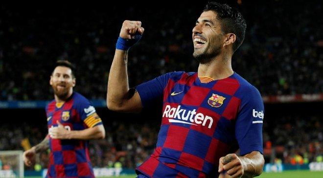 Суарес гениально завершил невероятную комбинацию Барселоны – один из лучших голов сезона