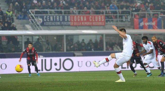 Милан переиграл Болонью, Сампдория уступила Парме, Брешия одолела СПАЛ: 15-й тур Серии А, воскресенье