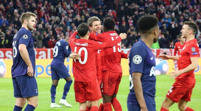 Бавария – Тоттенхэм: мощный футбол мюнхенцев, очередной провал Моуринью в топ-матче и расцвет Коутинью