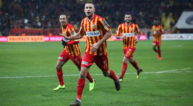 Кравець забив дебютний гол у поточному чемпіонаті Туреччини