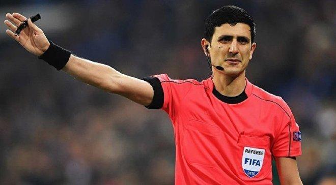 Динамо – Лугано: УЕФА назначил азербайджанскую бригаду арбитров на матч Лиги Европы