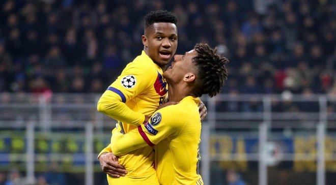 Фати стал самым молодым автором гола в Лиге чемпионов – юный форвард принес победу Барселоне в матче с Интером