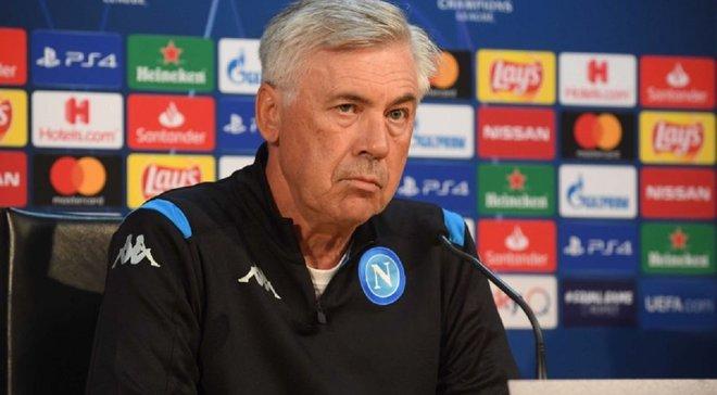 Наполи официально уволил Анчелотти