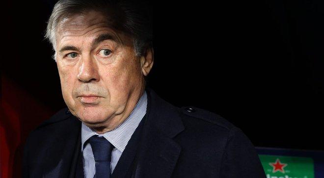 Анчелотти прокомментировал свое увольнение из Наполи