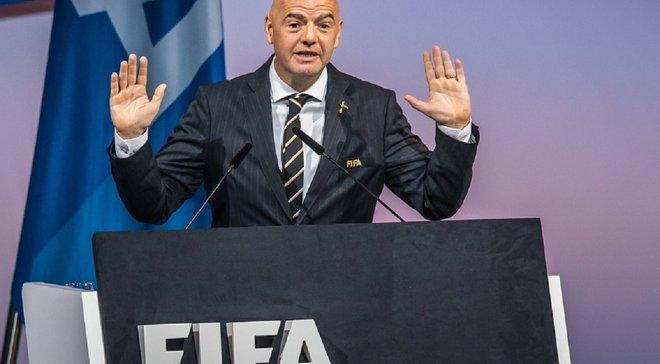 ФІФА не підтримує жоден проект закритої клубної Суперліги, – Інфантіно