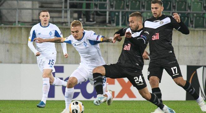 Динамо – Лугано: онлайн-трансляція матчу Ліги Європи – як це було
