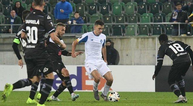 Динамо – Лугано: команди визначились із формами на матч Ліги Європи