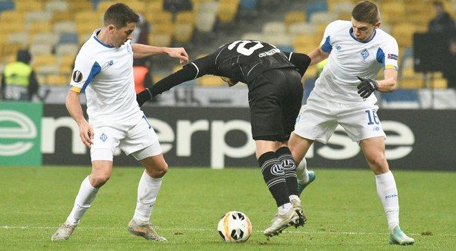 Динамо впервые с 2011 года не вышло из группы Лиги Европы