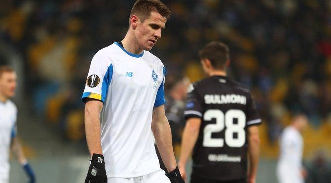 Бєсєдін – про виліт Динамо з Ліги Європи: Повністю беру провину на себе