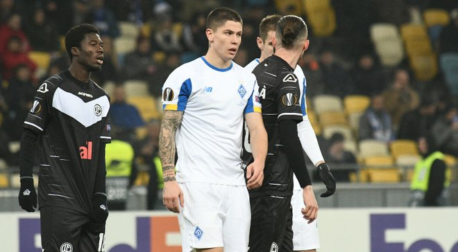 Главные новости футбола 12 декабря: Динамо вылетело из Лиги Европы, Безус обыграл Александрию, соперники для Шахтера