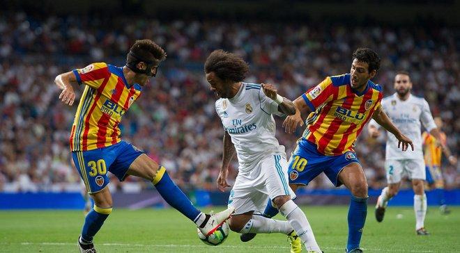Валенсия – Реал Мадрид: онлайн-трансляция матча Ла Лиги