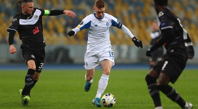 Циганков увійшов до топ-15 гравців Ліги Європи