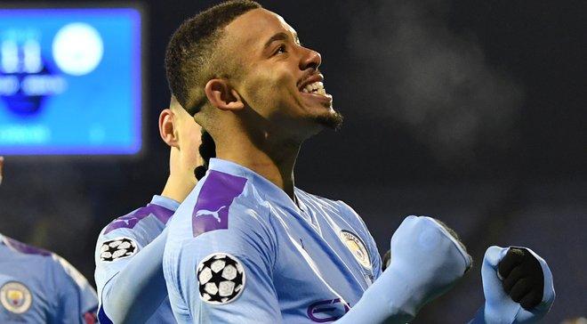 Жезус – лучший игрок недели в Лиге чемпионов