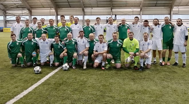 Ветерани Карпат переграли Динамо в матчі пам'яті Гусіна