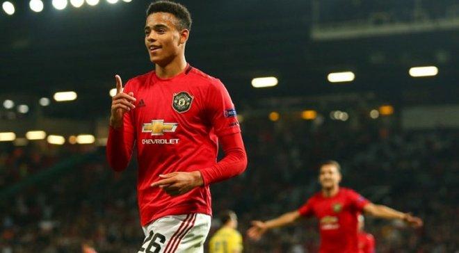 18-летний талант Манчестер Юнайтед стал лучшим игроком тура в Лиге Европы