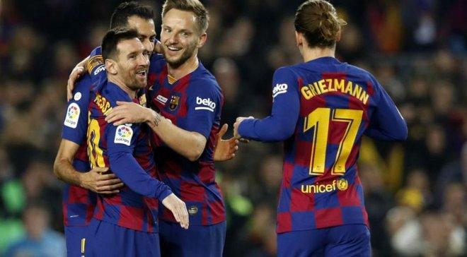 Мессі та інші лідери Барселони повернулися у заявку на найближчий матч