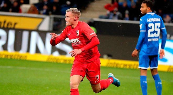 Аугсбург уверенно победил Хоффенхайм на выезде, забив четыре гола