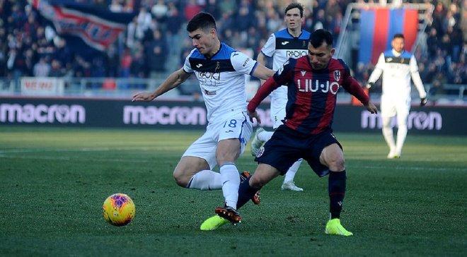 Гасперини похвалил Малиновского после забитого мяча в ворота Болоньи